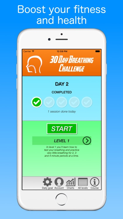 30 Day Breathing Challenge