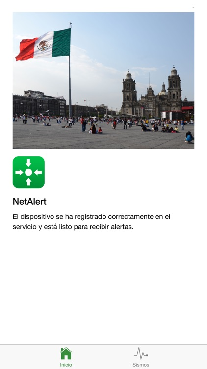 NetAlert: Earthquake early warnings for Mexico City screenshot-0