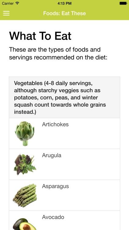 Mediterranean Diet Guide and Foods screenshot-3