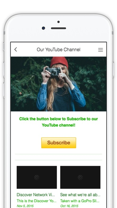 Discover YouTube Network by BuildFire (iOS, United States