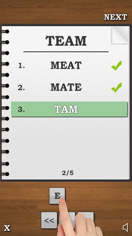 Anagrams Word Trivia - Free screenshot-3