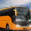 Winter City Off-road Hill Bus Driving Simulator 3D