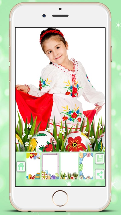 Easter photo editor camera - holiday pictures in frames to collage screenshot-3