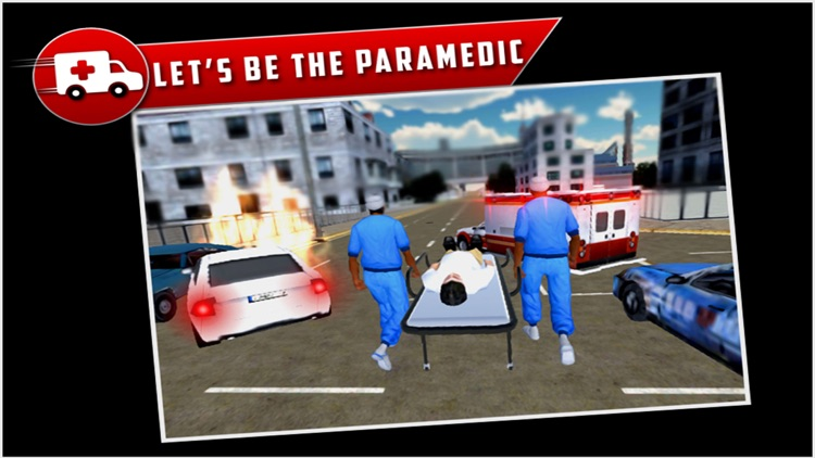 City Ambulance Rescue Drive 3D screenshot-2