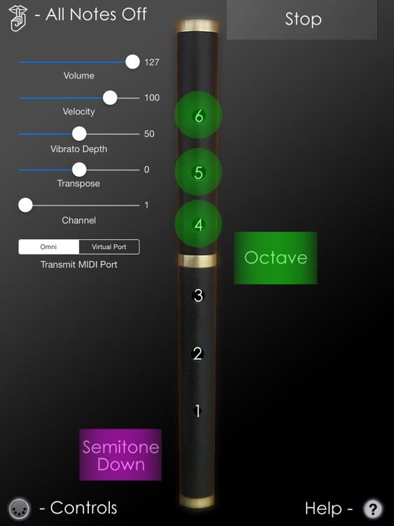MIDIFlute MIDI Controller