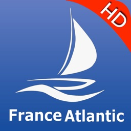 France Atlantic nautical chart GPS Tracker