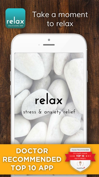 Relax - Stress and Anxiety Reliefのおすすめ画像1