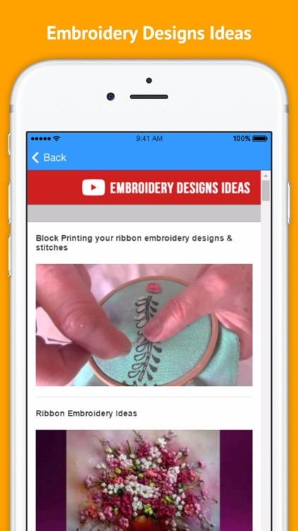 Embroidery Designs - Process of Creating Embroidery Designs and Patterns screenshot-3