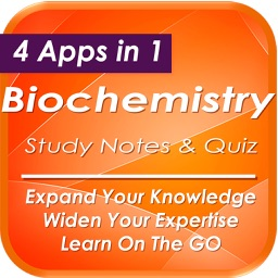 Biochemistry: 2700 Study Notes & Quiz