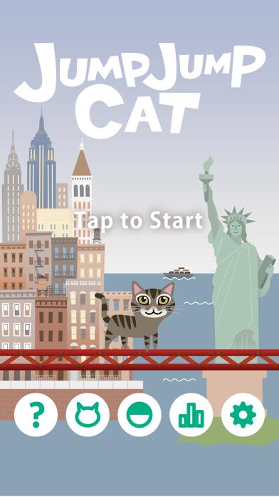 ジャンプジャンプ・キャット 猫ゲーム無料のおすすめ画像2