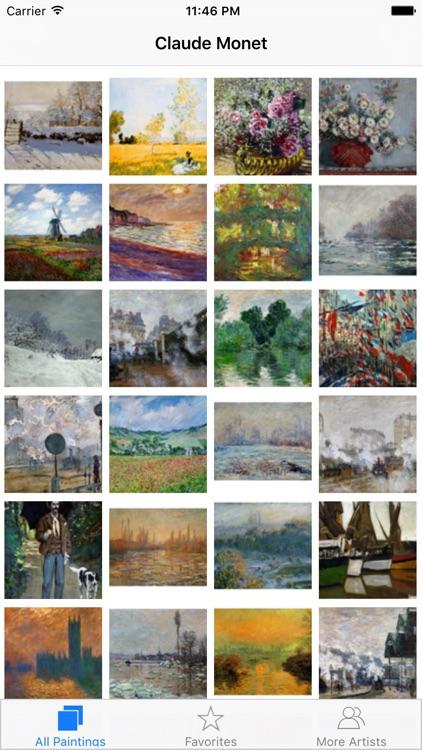 Monet 308 Paintings HD