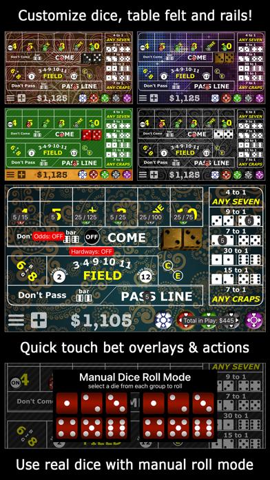 Casino Craps Pro 3D screenshot two