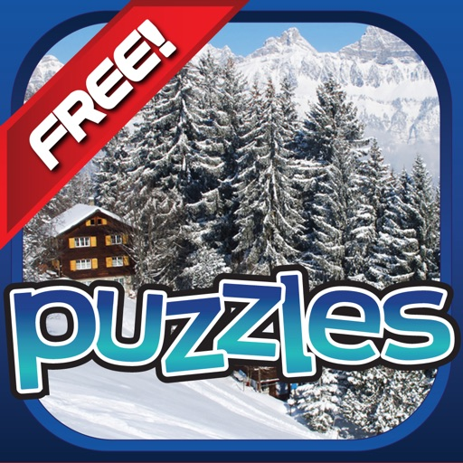 Winter Wonderland Puzzles - Snow, Penguins, Ice Castles and Moutains
