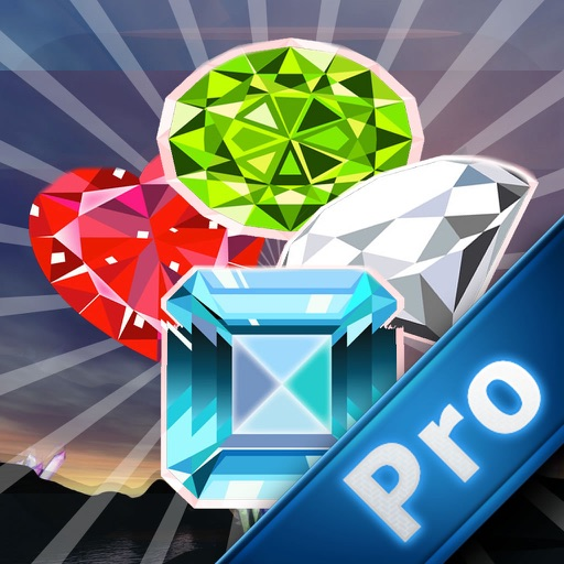 Mine Diamonds Cascade PRO - Match-3 Game