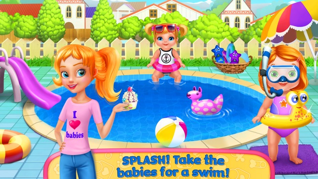 baby sitter games for girls