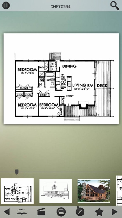 Cabin House Plans Info screenshot-1