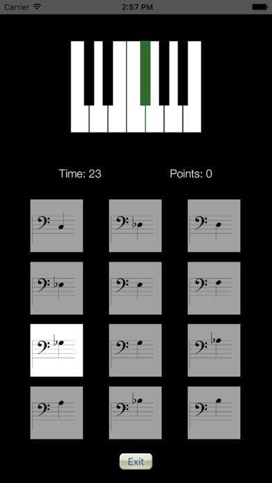Sheet Music Trainer Piano Bassのおすすめ画像2