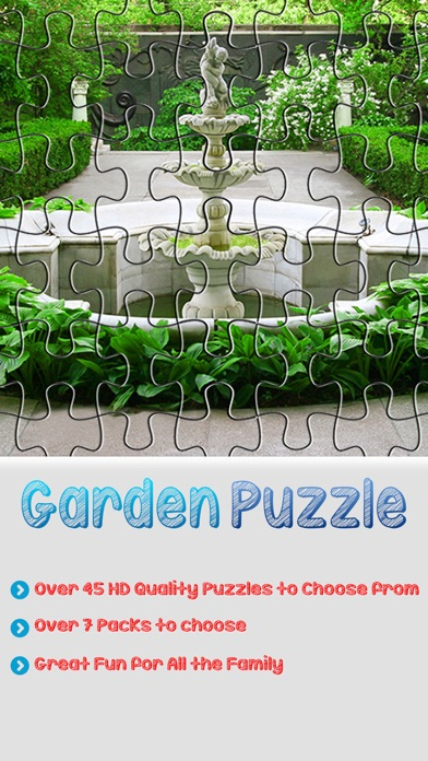 Landscape Garden Puzzles and Jigsaw - Amazing Packs Pro