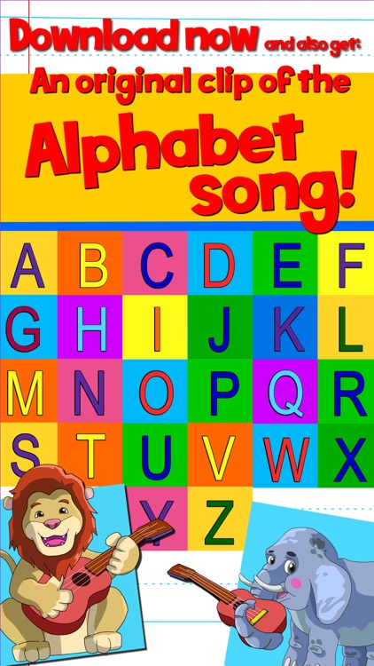 Learn ABC and alphabet thru trace game, flash cards and song. screenshot-4