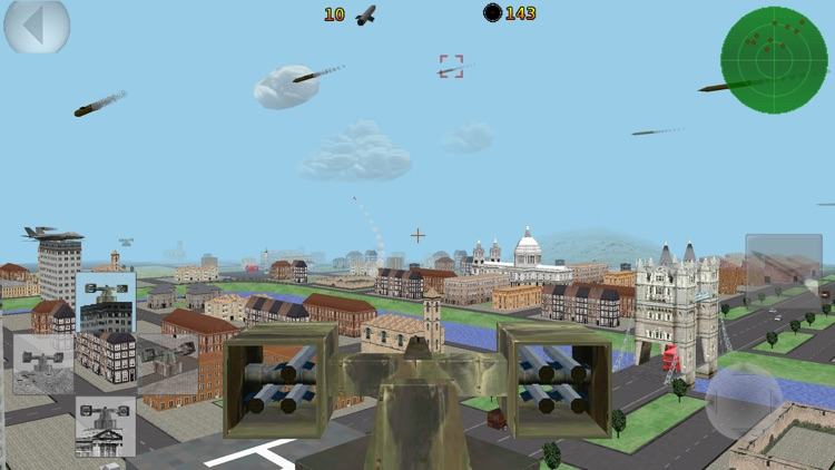Patriotic Missile 3D Lite screenshot-0