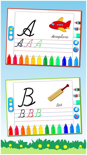 Cursive writing capital letters kids learn to write uppercase screenshots expocarfo