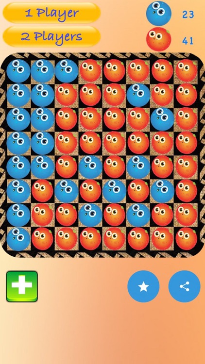 Fruity Othello-Abstract Strategy Game screenshot-3