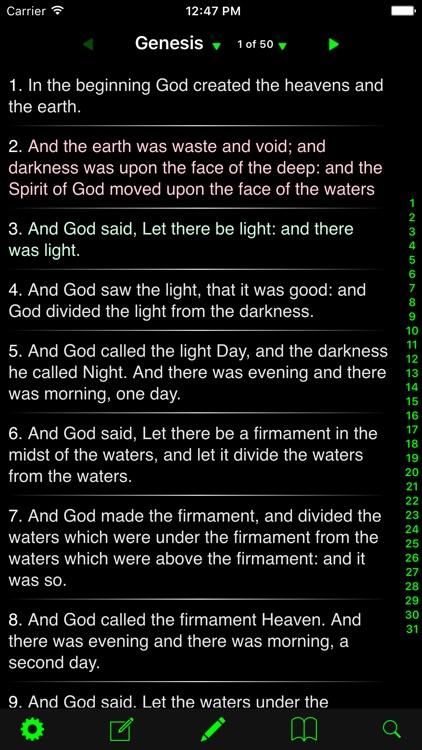 Bible - KJV & ASV