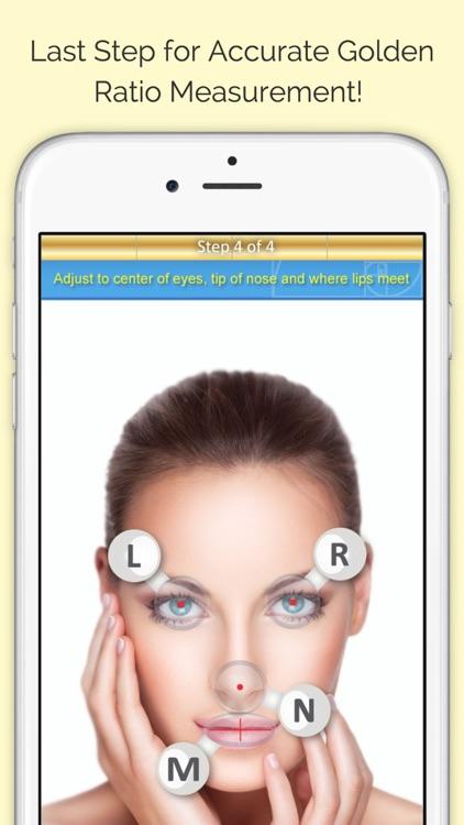 Golden Beauty Meter - Grade Your Selfie screenshot-3