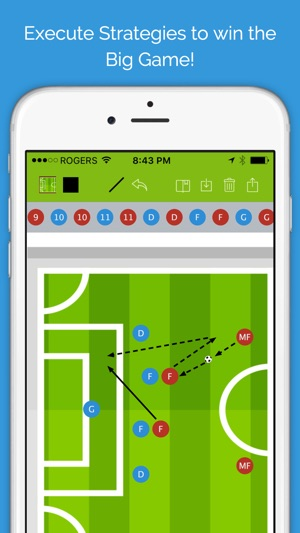 Soccer blueprint lite clipboard drawing tool for coaches on the screenshots malvernweather Gallery