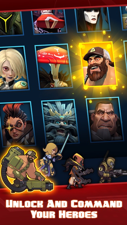 Battleborn® Tap screenshot-1