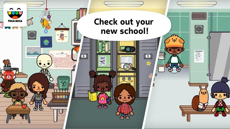 Toca Life: School screenshot-0