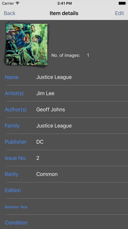 My Comic Book Collection screenshot-1