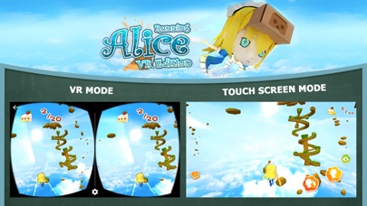 Screenshot from Alice Running VR Edition