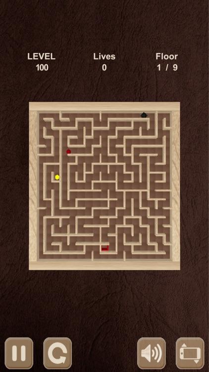 Roll the ball. Labyrinth box screenshot-4