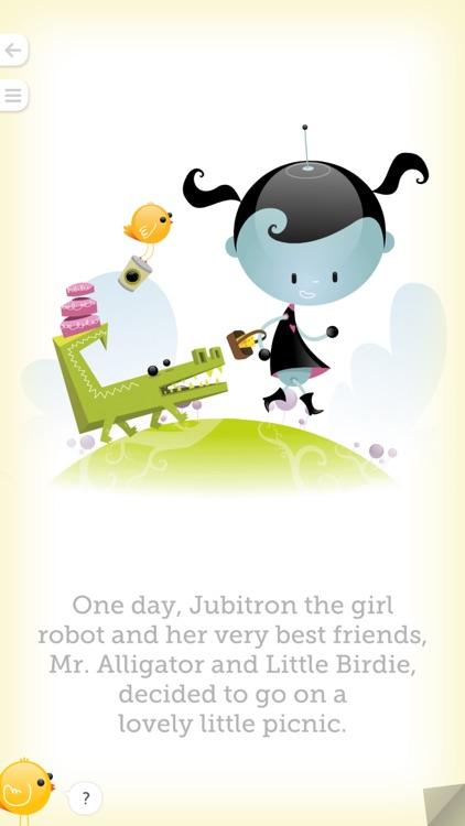 Jubitron the Girl Robot: The Lovely Little Picnic