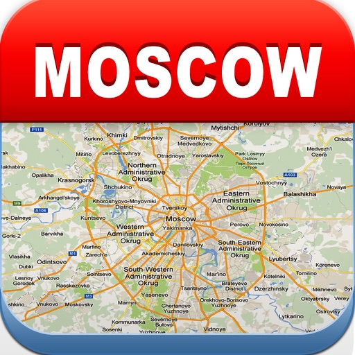 Moscow Offline Map - City Metro Airport