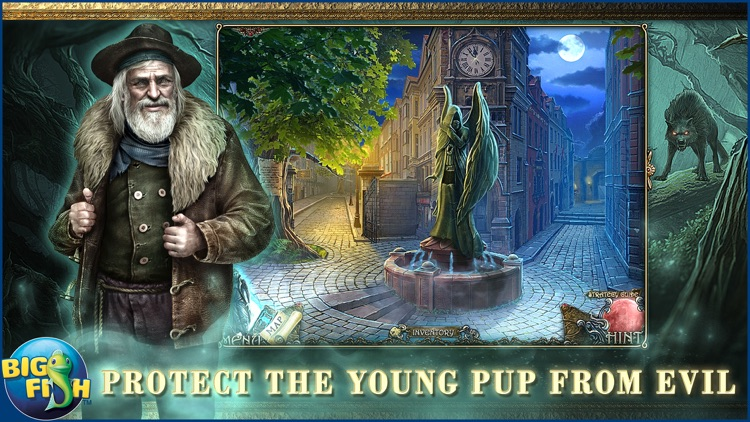 Shadow Wolf Mysteries: Tracks of Terror - A Hidden Object Adventure (Full) screenshot-0