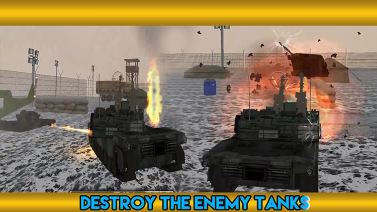 Tank Battle Blitz Attack 2016 - Tank City Warfare Game screenshot-3