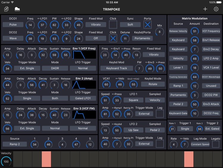Patch Touch: for Oberheim Matrix screenshot-3