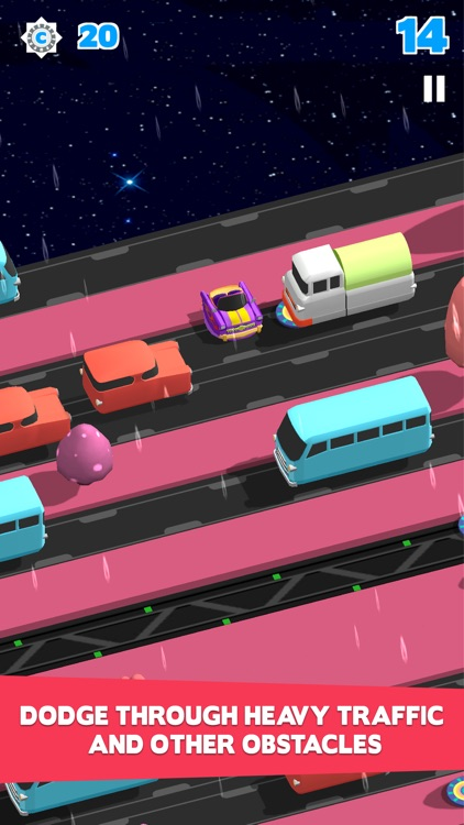 Bring Me Home-Endless Road Crossing with Hopper Hovercraft screenshot-4