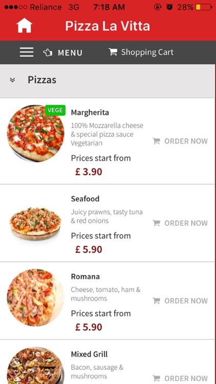 Pizza La Vita Cheadle By Abdollah Mohammadian