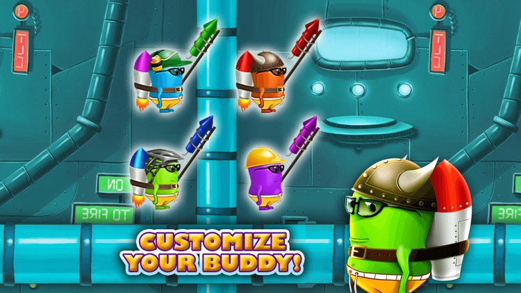 Monster Jump Race-Smash Candy Factory Jumping Game screenshot-3