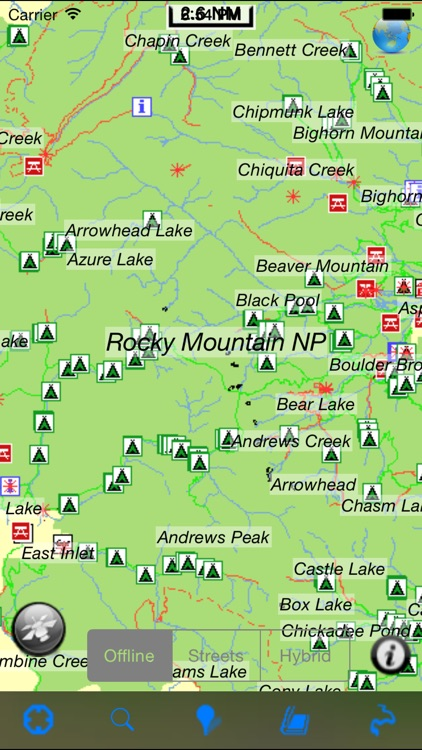 Bryce Canyon National Park gps and outdoor map with Guide screenshot-4