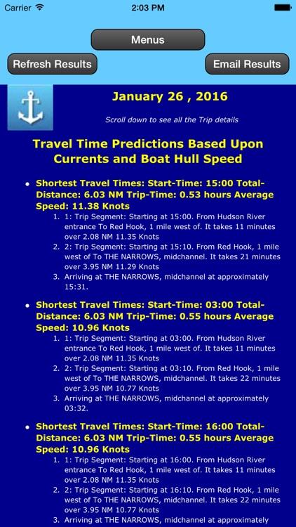 Gulf Coast Trip Planner using Tidal Currents + Tides screenshot-4