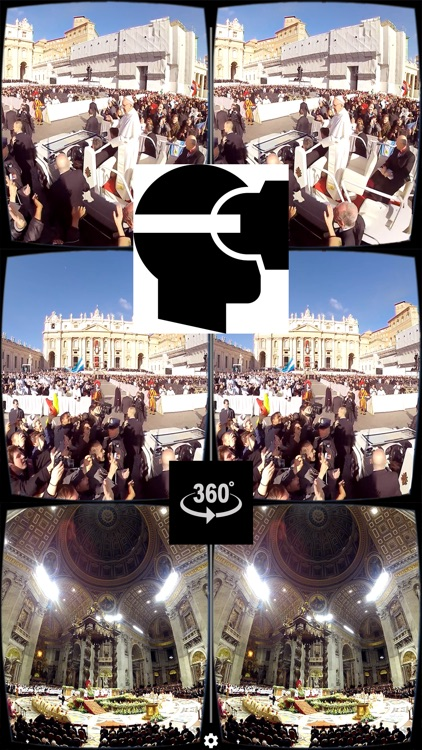 VR Virtual Reality press360 Papal inauguration of Pope Francis screenshot-0