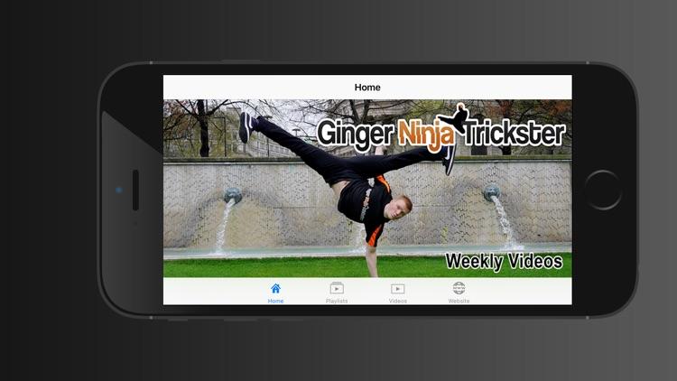 Ginger Ninja Trickster screenshot-0