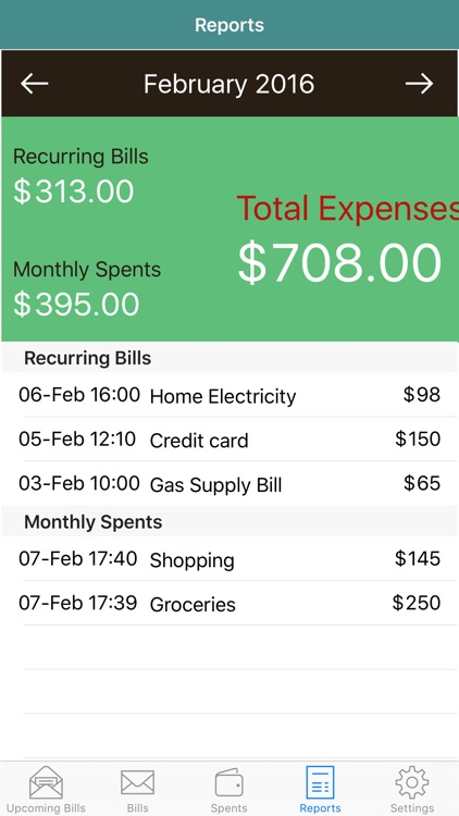 Bill Logger - Track Bills and Expenses screenshot-4