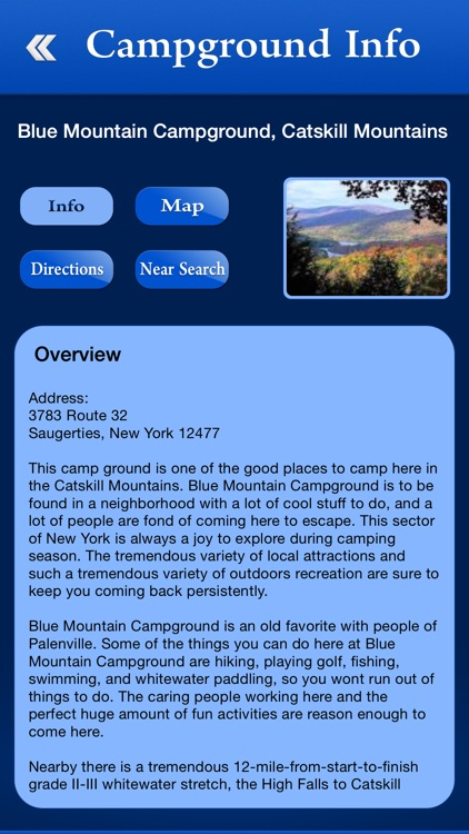 New York Campgrounds and RV Parks