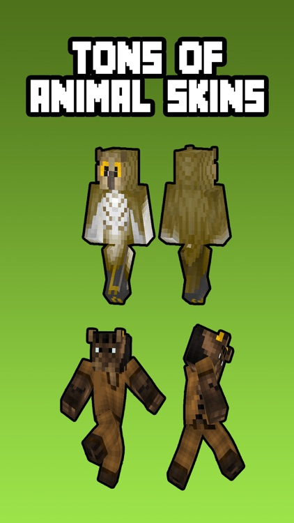 Animal Skins For Minecraft Pocket Edition