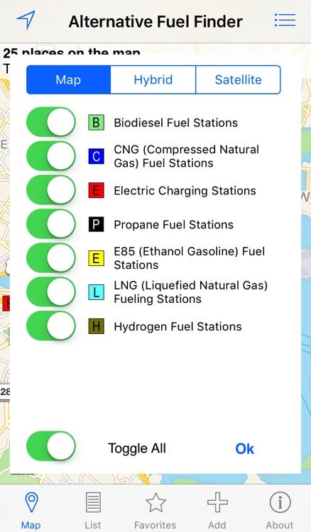 Alternative Fuel Finder